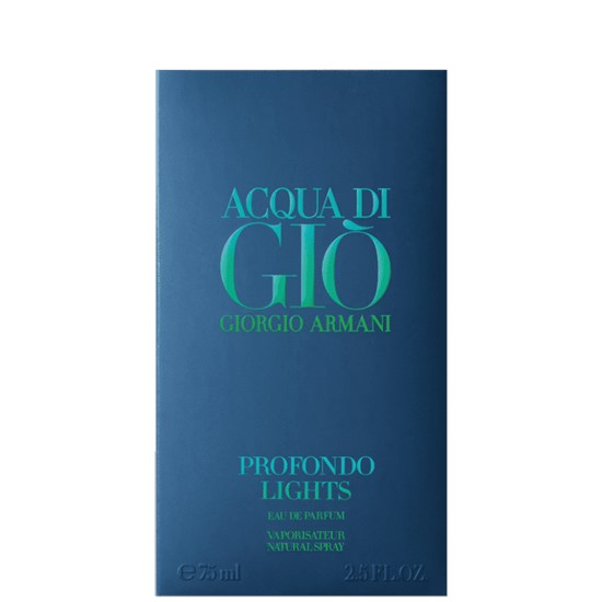 Perfume Acqua di Giò Profondo Lights - Giorgio Armani - Masculino - Eau de Parfum - 75ml