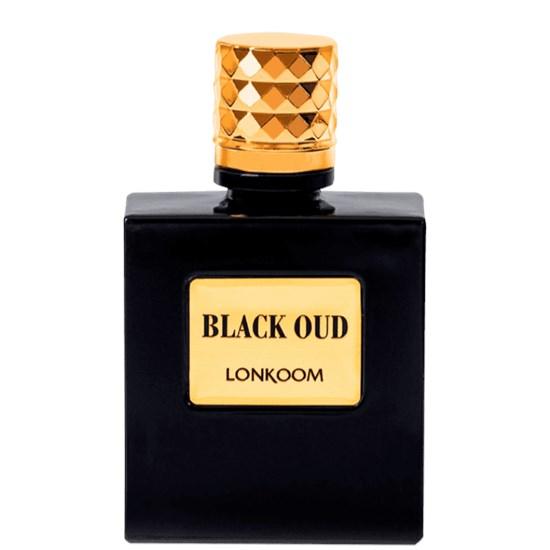 Perfume Black Oud - Lonkoom - Masculino - Eau de Toilette - 100ml