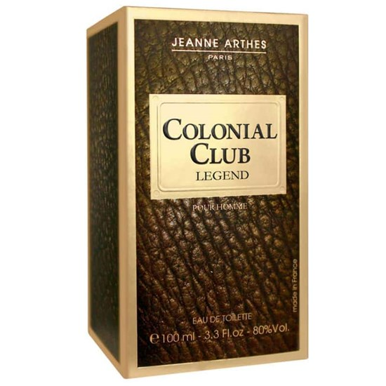 Perfume Colonial Club Legend - Jeanne Arthes - Masculino - Eau de Toilette - 100ml