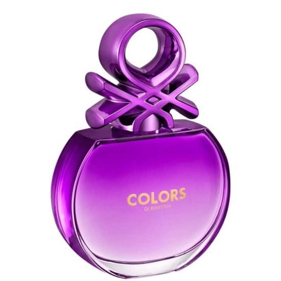 Perfume Colors Purple - Benetton - Feminino - Eau de Toilette - 80ml