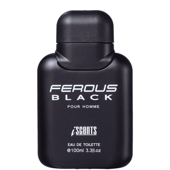 Perfume Ferous Black - I-Scents - Masculino - Eau de Toilette - 100ml