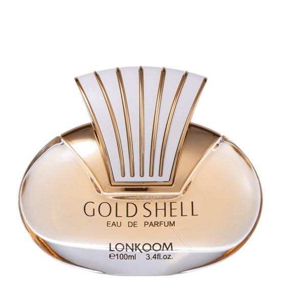 Perfume Gold Shell - Lonkoom - Feminino - Eau de Parfum - 100ml