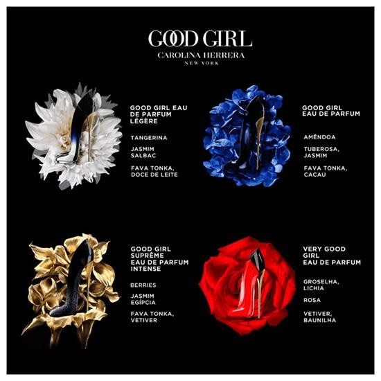 Perfume Good Girl - Carolina Herrera - Feminino - Eau de Parfum - 80ml