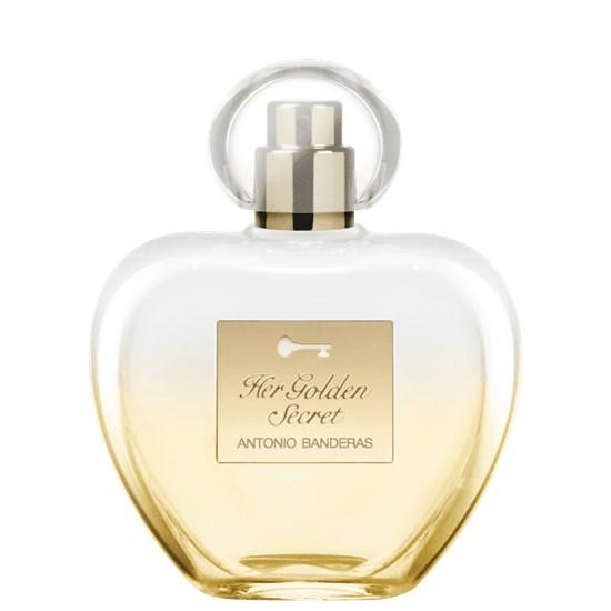 Perfume Her Golden Secret - Antonio Banderas - Feminino - Eau de Toilette - 80ml