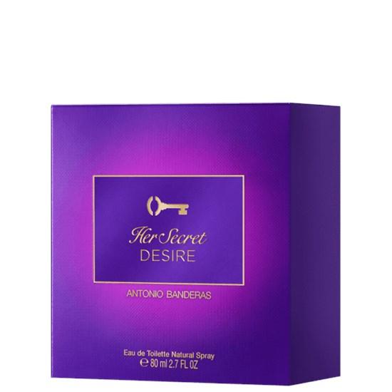Perfume Her Secret Desire - Antonio Banderas - Feminino - Eau de Toilette - 80ml