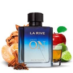 Perfume Just On Time - La Rive - Masculino - Eau de Toilette - 100ml