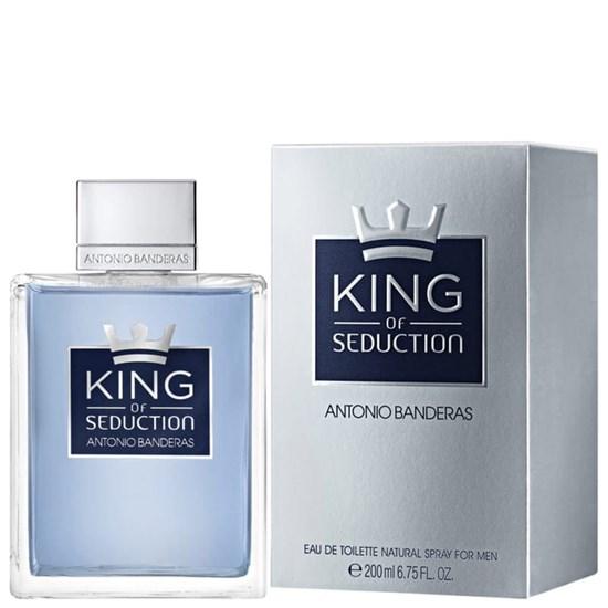 Perfume King of Seduction - Antonio Banderas - Masculino - Eau de Toilette - 200ml