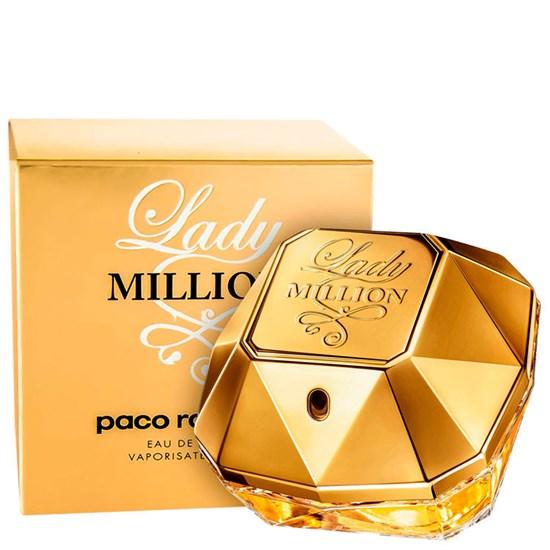 Perfume Lady Million - Paco Rabanne - Feminino - Eau de Parfum - 80ml