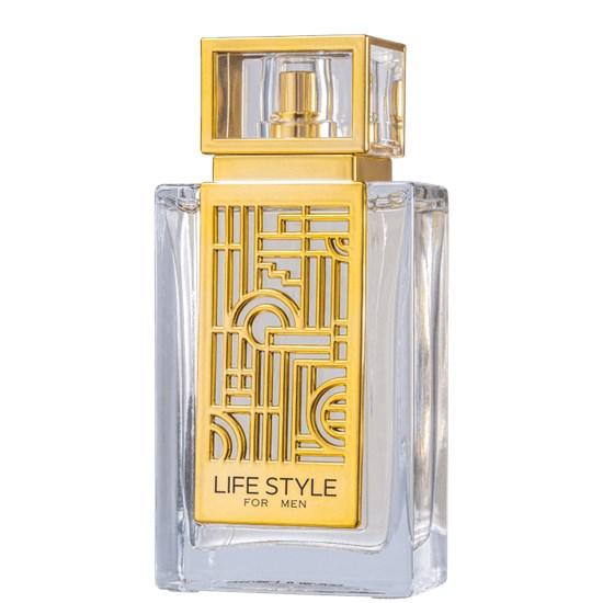 Perfume Life Style Gold For Men - Lonkoom - Masculino - Eau de Toilette - 100ml