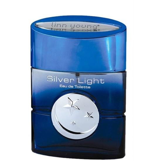 Perfume Silver Light Man - Linn Young Coscentra - Masculino - Eau de Toilette - 100ml