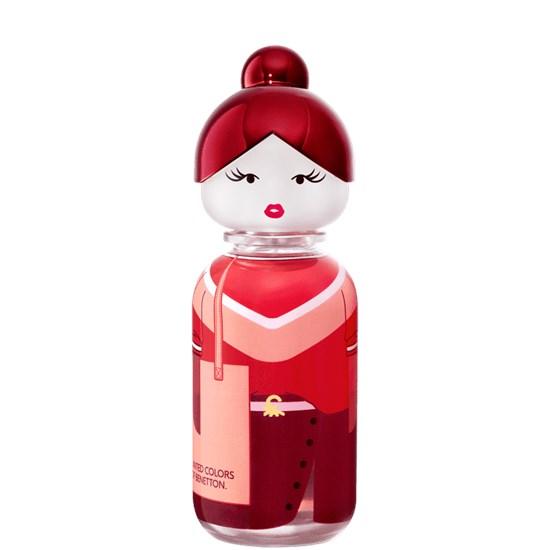 Perfume Sisterland Red Rose - Benetton - Feminino - Eau de Toilette - 80ml