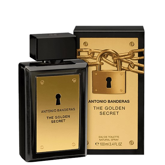 Perfume The Golden Secret - Antonio Banderas - Masculino - Eau de Toilette - 100ml