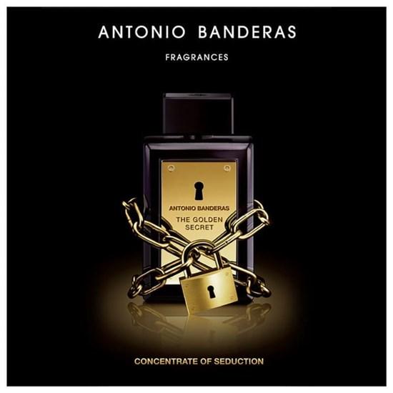 Perfume The Golden Secret - Antonio Banderas - Masculino - Eau de Toilette - 200ml