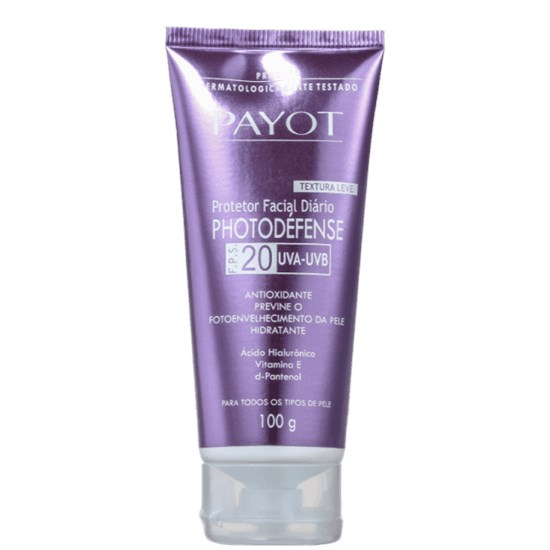 Protetor Solar Facial Photodefense FPS20 - Payot - 100g