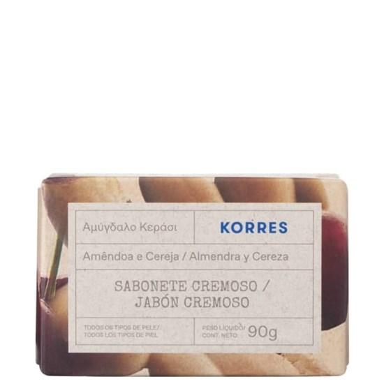 Sabonete em Barra - Amêndoa Doce e Cereja - Korres - 90g