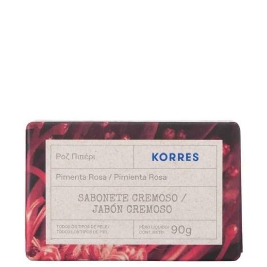 Sabonete em Barra - Pimenta Rosa - Korres - 90g