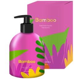 Sabonete Líquido Hidratante Bamboo - Pokoloka - 480 ML
