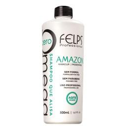 Shampoo Alisante - Omega Zero Amazon  - Felps Profissional - 500ml