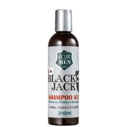 Shampoo Multifuncional - Black Jack Ice - Felps Men - 240ml