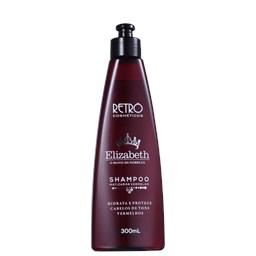 Shampoo Tons Vermelhos Red Elizabeth - Retrô Cosméticos - 300ml